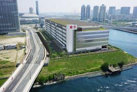 4月竣工した大和ハウスの物流施設、DBJ環境認証取得
