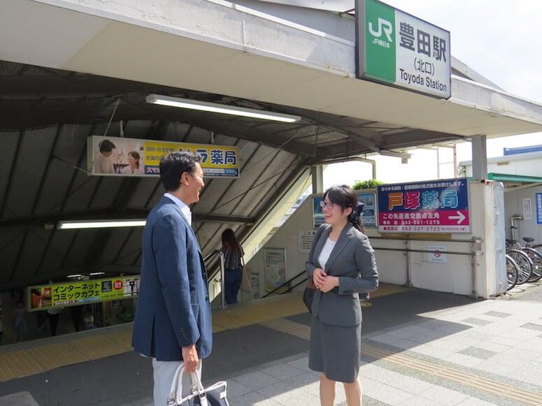 駅前待ち合わせ