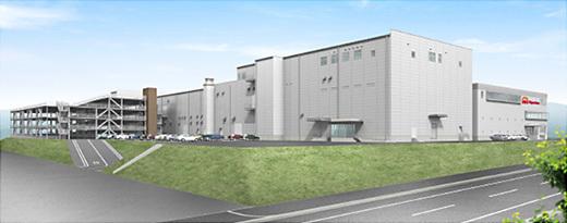 日本ハムファクトリー、兵庫工場の新棟竣工