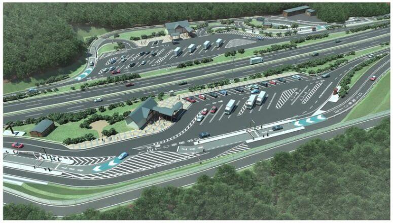 大分自動車道の「由布岳スマートIC」、11月27日開通