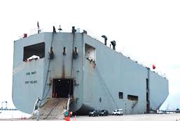 川崎汽船、寄港地をハイフォン港へ変更し完成車輸送強化