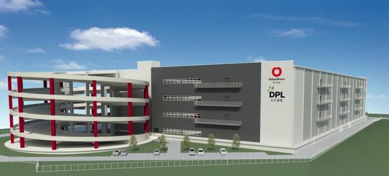 大和ハウス、川口市で7万m2のマルチ型物流施設着工