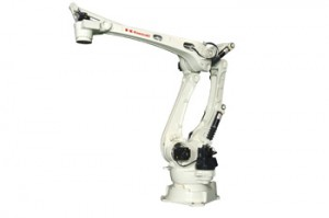 川崎重工、可搬質量700キロのパレタイズロボット発売