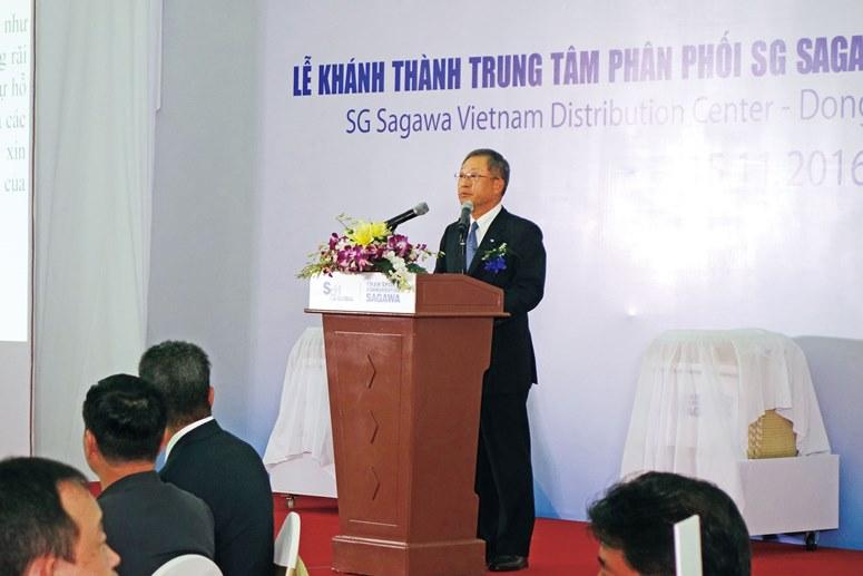 SG佐川ベトナム、3温度帯マルチテナント型拠点が完成