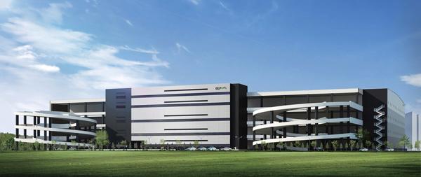 GLP、千葉県流山市で延べ9万m2のマルチ型物流施設起工