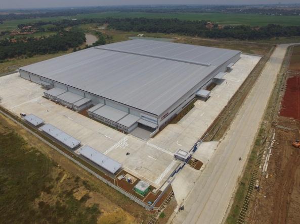 フジトランス、インドネシアにグループ最大規模の新倉庫