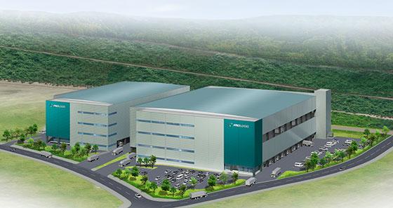 プロロジス、神戸テクノロジパーク内にBTS型物流施設建設