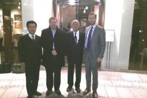 横浜冷凍、吉川会長ら9人でノルウェー大使館訪問