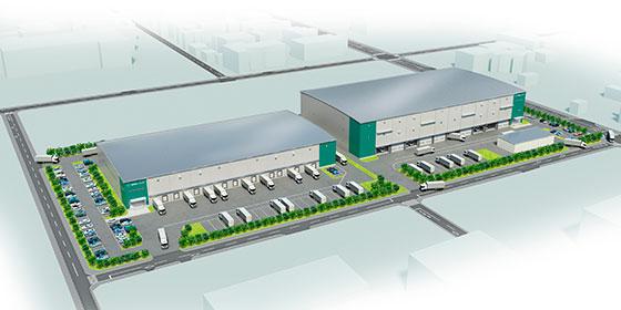 プロロジス、茨城県つくば市にBTS型物流施設開発