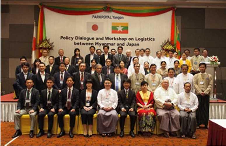 国交省、ミャンマー運輸通信省に保税制度整備提案01
