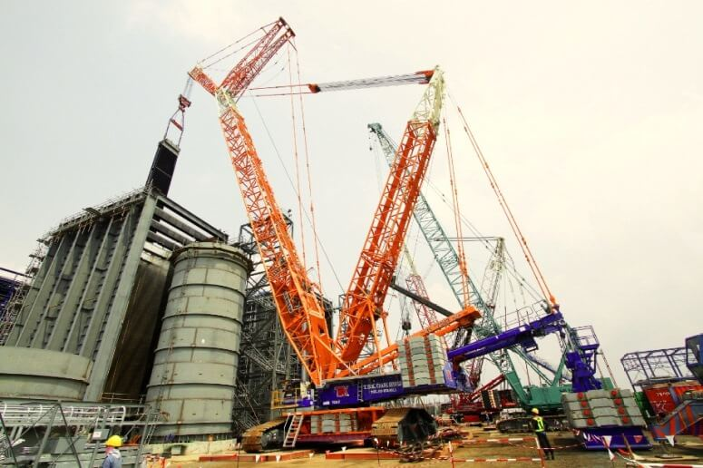 三菱商事とニッケン、タイでクレーンレンタル立上げ