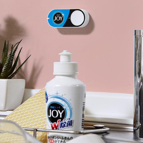 米アマゾン、押すだけで自動注文される「ダッシュボタン」発売