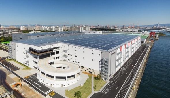 ESRの新施設「レッドウッド南港中第1期」12万m2が竣工