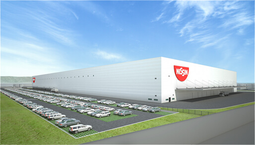日清食品、575億円投じ滋賀県にIoT活用の新工場建設.