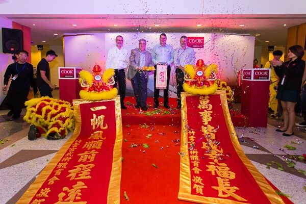 クックメディカル、南アジア物流センターを開設2