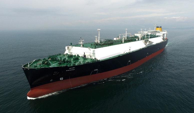 日本郵船・商船三井・川崎汽船共同保有のLNG船竣工