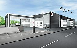 三菱ふそう、成田市にスマート機器導入の新拠点開設