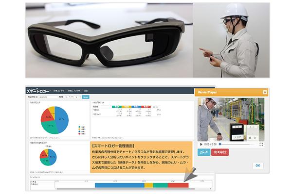 CEC、作業動態分析にメガネ型端末採用2