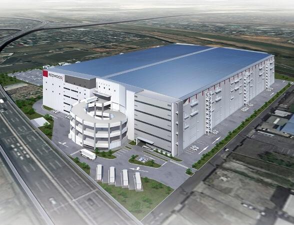 延床17万m2のESR物流施設、大阪・藤井寺で3月末竣工