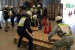 香川県、高松市で災害時の支援物資物流訓練2