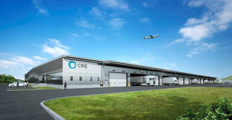 CREが千歳市に新物流施設計画、テナント確定済み