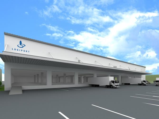 ラサール、平塚市に大手食品卸専用物流施設着工