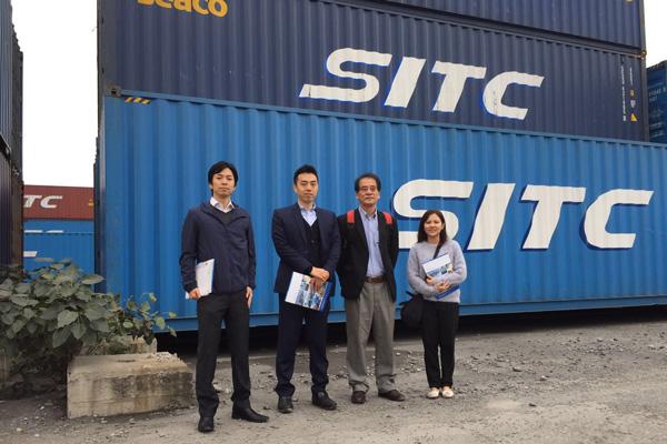 SITC、AMEICC事務局員がベトナム拠点を視察