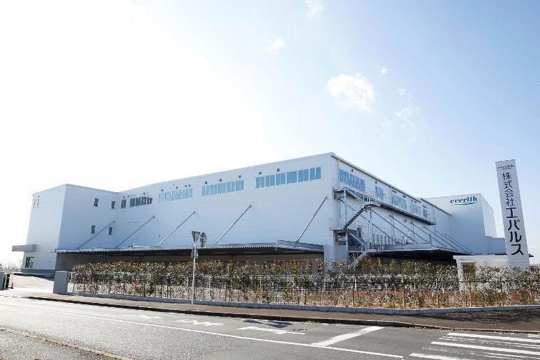 エバルス、中国地方初設置の「岡山ALC」竣工