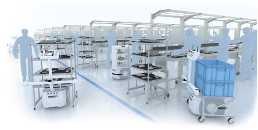 オムロン、自動搬送ロボット特設サイト開設3