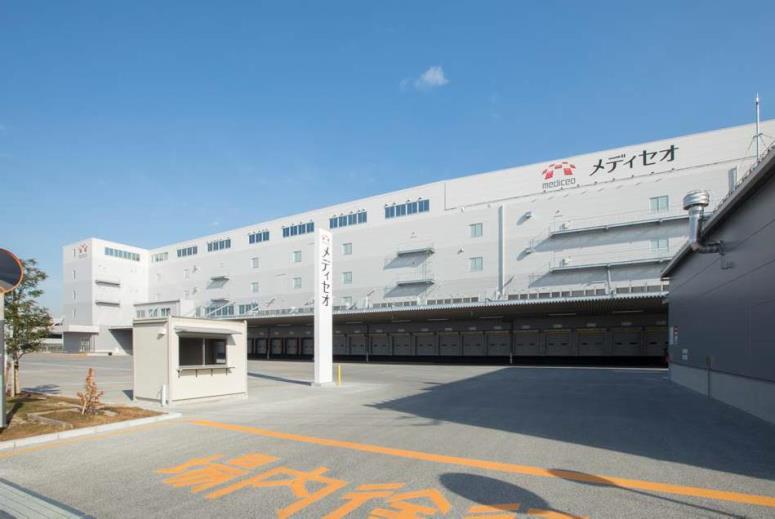 メディパルHD、埼玉県に235億円投じ新物流拠点竣工