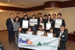 フェデックス、日シンガポールの高校生80人でアイデアコンテスト