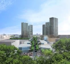 三井不など7社、ドローン宅配タワー群の計画スタート