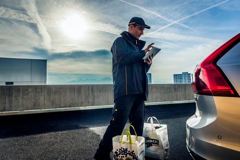購入商品の配達先に「ボルボのトランク」、スイス04(1)