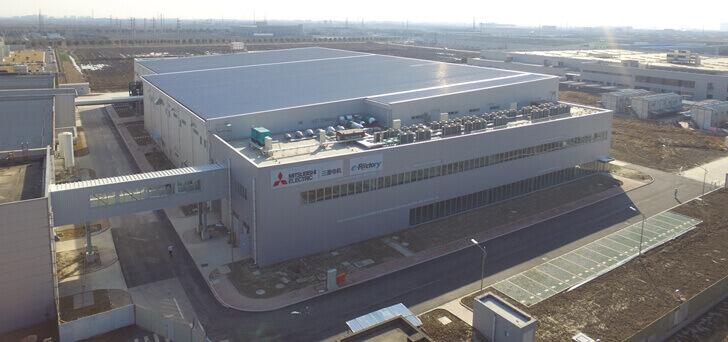 三菱電機、中国にFA機器の新生産工場竣工
