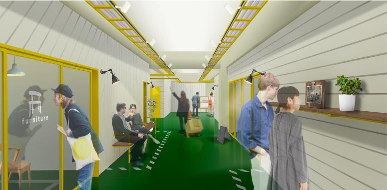リソーコ、空き倉庫をオフィスにリノベーション01