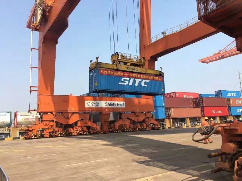 SITC、中国・温州-東南アジア航路開設