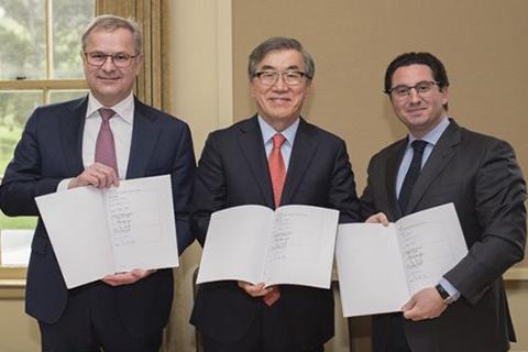 2M+HMM、4月発効の協定に正式調印.