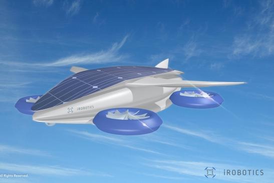アイ・ロボ社、24時間航行可能なドローン開発へ