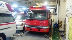 川崎汽船、エルサルバドル向け寄贈消防車無償輸送