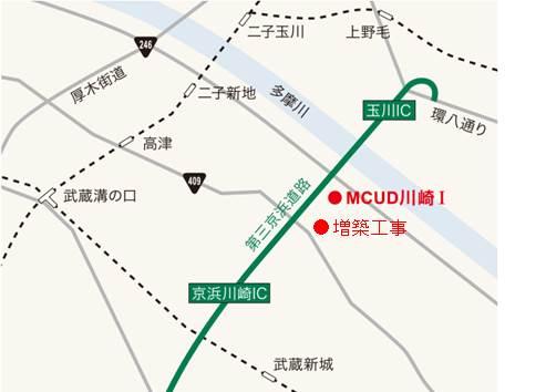 三菱商事都市開発が川崎の物流施設増築、総延べ9.9万m2