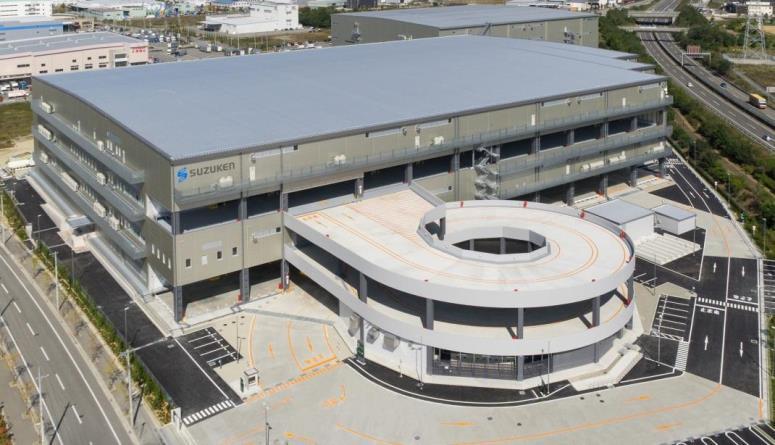 スズケン、神戸市の併設型複合センター稼働開始