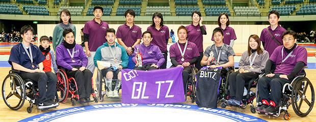 商船三井、車椅子ラグビーチーム「BLITZ」とサポーター契約