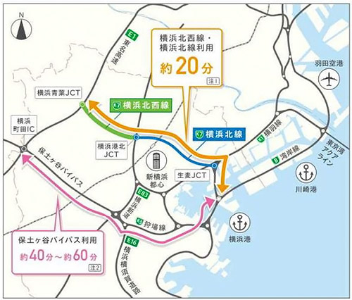 首都 高 横浜 北西 線