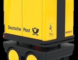 セイノーとSB、国内初の人追従搬送ロボ公道実験