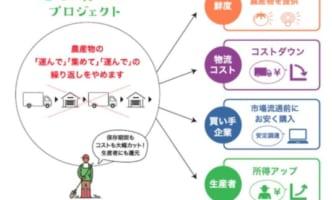 ドコモ、神奈川で農作物の「新たな物流」検証