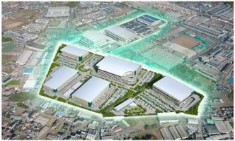 プロロジス、茨城で物流施設5棟の新プロジェクト