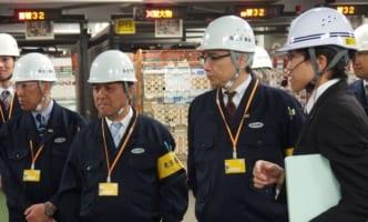 東京労働局、ヤマトの羽田クロノゲート視察
