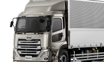 UD、大型トラック「クオン」ショートキャブ車発売