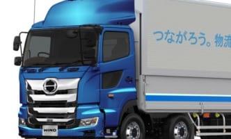 日野自主導のW連結トラック幹線輸送に3社参画