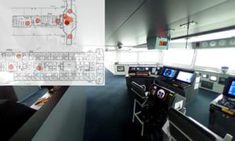 商船三井、リコー製品用い仮想訪船アプリ開発